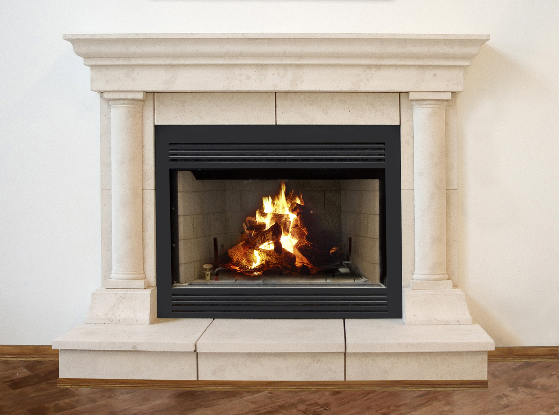 Tuscan Cast Stone Fireplace Mantels | New York