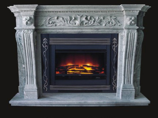 model 18 marble fireplace