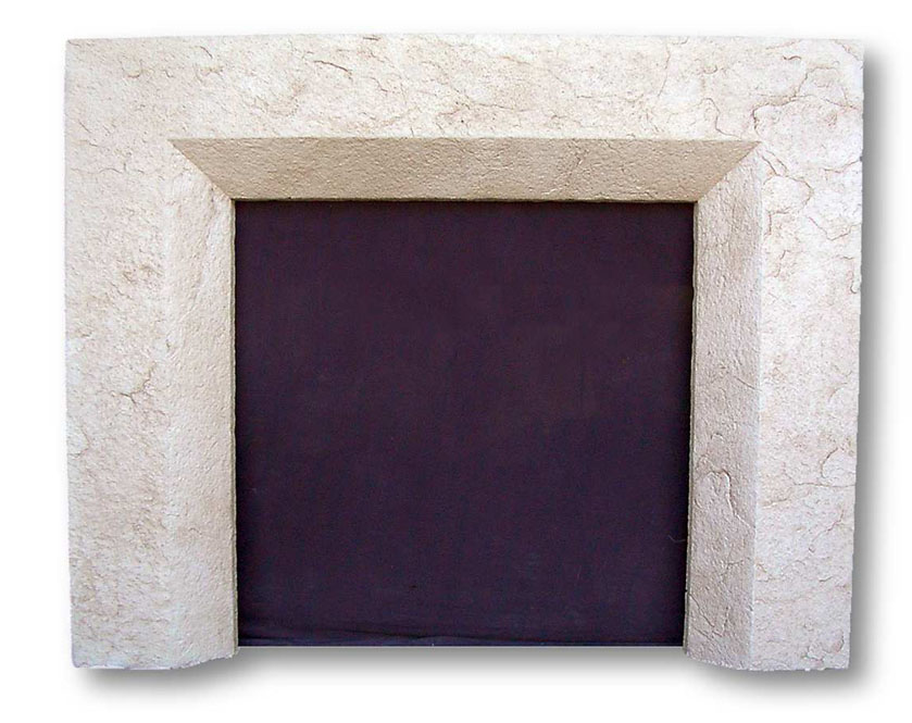 beveled plaster fireplace surrounds fireplaces mantels