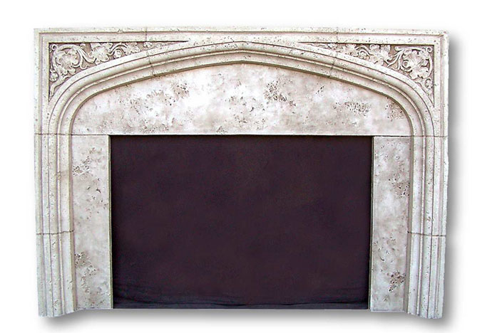 English Tudor Ii Fireplaces Cast Stone Gothic Mantels