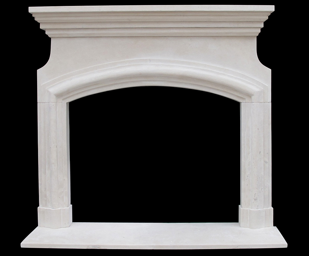Marseille Sandstone Fireplace Facing French Mantel Ideas