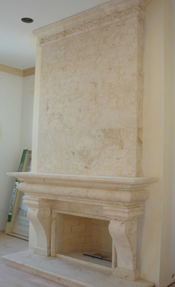 Fireplace Overmantels Marble Over Mantels
