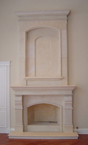 Fireplace Overmantels Marble Over Mantels Cast Stone Surrounds Limestone Upper Mantel