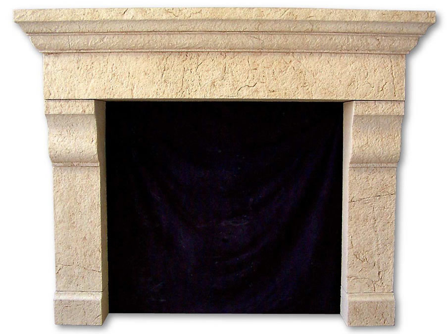 Cast stone fireplace mantels pre cast surrounds faux for Faux marble fireplace mantels